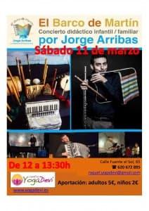 10 carteles concierto de Jorge