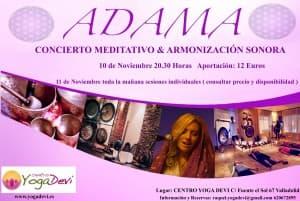 concierto ADAMA